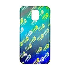 Swarm Of Bees Background Wallpaper Pattern Samsung Galaxy S5 Hardshell Case