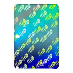 Swarm Of Bees Background Wallpaper Pattern Samsung Galaxy Tab Pro 12 2 Hardshell Case