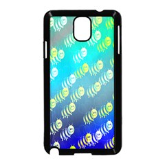 Swarm Of Bees Background Wallpaper Pattern Samsung Galaxy Note 3 Neo Hardshell Case (black)