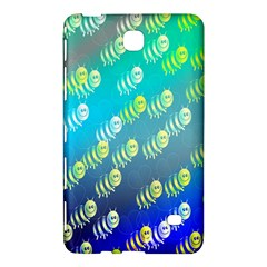 Swarm Of Bees Background Wallpaper Pattern Samsung Galaxy Tab 4 (8 ) Hardshell Case