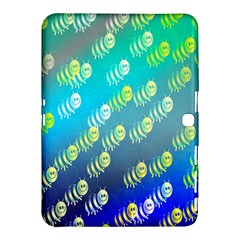 Swarm Of Bees Background Wallpaper Pattern Samsung Galaxy Tab 4 (10.1 ) Hardshell Case