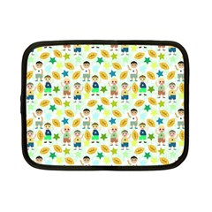 Football Kids Children Pattern Netbook Case (small)