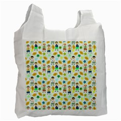 Football Kids Children Pattern Recycle Bag (Two Side)