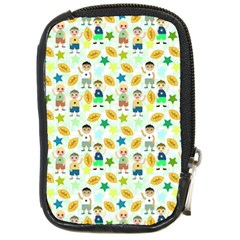 Football Kids Children Pattern Compact Camera Cases