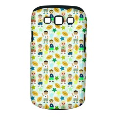 Football Kids Children Pattern Samsung Galaxy S Iii Classic Hardshell Case (pc+silicone)