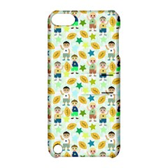 Football Kids Children Pattern Apple Ipod Touch 5 Hardshell Case With Stand