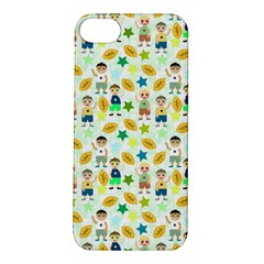 Football Kids Children Pattern Apple iPhone 5S/ SE Hardshell Case