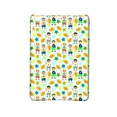 Football Kids Children Pattern iPad Mini 2 Hardshell Cases