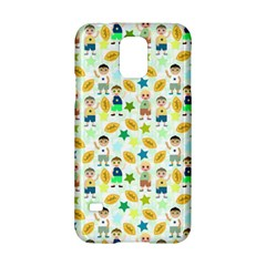 Football Kids Children Pattern Samsung Galaxy S5 Hardshell Case