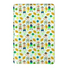 Football Kids Children Pattern Samsung Galaxy Tab Pro 10 1 Hardshell Case