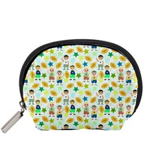 Football Kids Children Pattern Accessory Pouches (small)