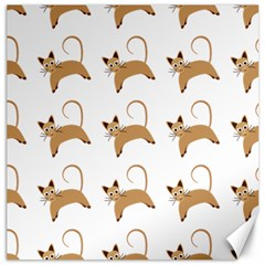 Cute Cats Seamless Wallpaper Background Pattern Canvas 20  x 20