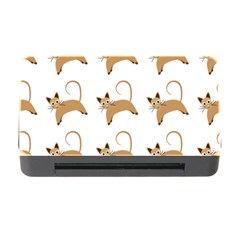 Cute Cats Seamless Wallpaper Background Pattern Memory Card Reader with CF