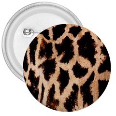 Yellow And Brown Spots On Giraffe Skin Texture 3  Buttons