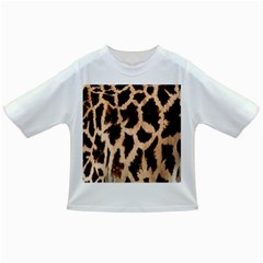 Yellow And Brown Spots On Giraffe Skin Texture Infant/toddler T Shirts