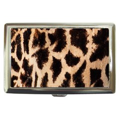 Yellow And Brown Spots On Giraffe Skin Texture Cigarette Money Cases