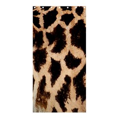 Yellow And Brown Spots On Giraffe Skin Texture Shower Curtain 36  x 72  (Stall)