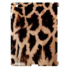 Yellow And Brown Spots On Giraffe Skin Texture Apple iPad 3/4 Hardshell Case (Compatible with Smart Cover)