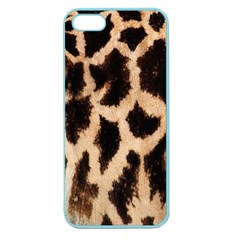 Yellow And Brown Spots On Giraffe Skin Texture Apple Seamless iPhone 5 Case (Color)
