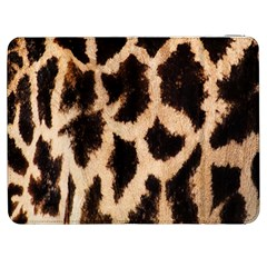 Yellow And Brown Spots On Giraffe Skin Texture Samsung Galaxy Tab 7  P1000 Flip Case