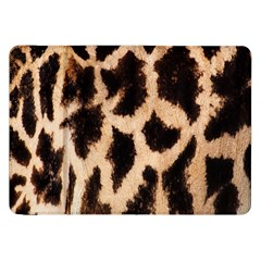 Yellow And Brown Spots On Giraffe Skin Texture Samsung Galaxy Tab 8.9  P7300 Flip Case