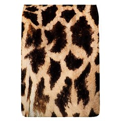 Yellow And Brown Spots On Giraffe Skin Texture Flap Covers (S)