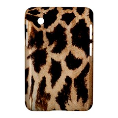 Yellow And Brown Spots On Giraffe Skin Texture Samsung Galaxy Tab 2 (7 ) P3100 Hardshell Case