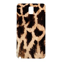 Yellow And Brown Spots On Giraffe Skin Texture Samsung Galaxy Note 3 N9005 Hardshell Back Case