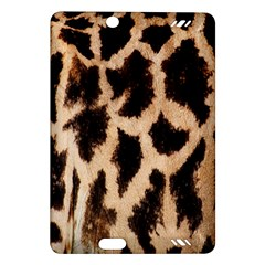 Yellow And Brown Spots On Giraffe Skin Texture Amazon Kindle Fire Hd (2013) Hardshell Case