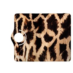 Yellow And Brown Spots On Giraffe Skin Texture Kindle Fire HDX 8.9  Flip 360 Case