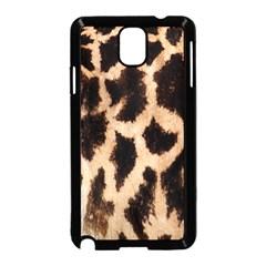 Yellow And Brown Spots On Giraffe Skin Texture Samsung Galaxy Note 3 Neo Hardshell Case (black)