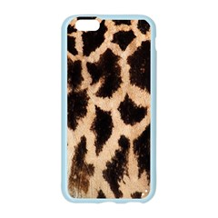 Yellow And Brown Spots On Giraffe Skin Texture Apple Seamless iPhone 6/6S Case (Color)