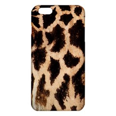 Yellow And Brown Spots On Giraffe Skin Texture iPhone 6 Plus/6S Plus TPU Case