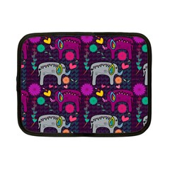 Love Colorful Elephants Background Netbook Case (small)
