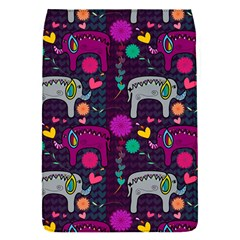 Love Colorful Elephants Background Flap Covers (S)
