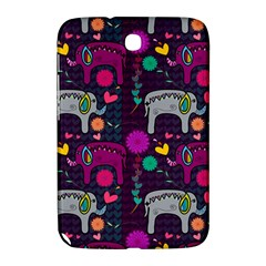 Love Colorful Elephants Background Samsung Galaxy Note 8 0 N5100 Hardshell Case