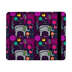 Love Colorful Elephants Background Samsung Galaxy Tab Pro 8 4  Flip Case