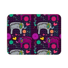 Love Colorful Elephants Background Double Sided Flano Blanket (Mini)