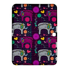 Love Colorful Elephants Background Samsung Galaxy Tab 4 (10.1 ) Hardshell Case