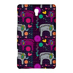 Love Colorful Elephants Background Samsung Galaxy Tab S (8 4 ) Hardshell Case