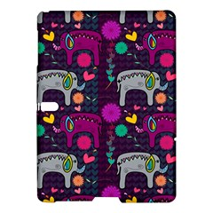Love Colorful Elephants Background Samsung Galaxy Tab S (10.5 ) Hardshell Case