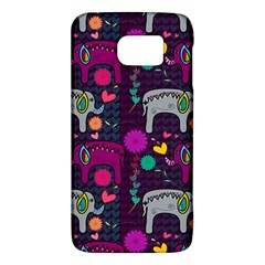 Love Colorful Elephants Background Galaxy S6