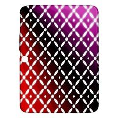 Flowers Digital Pattern Summer Woods Art Shapes Samsung Galaxy Tab 3 (10.1 ) P5200 Hardshell Case