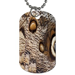 Butterfly Wing Detail Dog Tag (Two Sides)