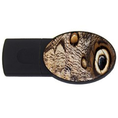 Butterfly Wing Detail Usb Flash Drive Oval (4 Gb)
