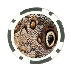Butterfly Wing Detail Poker Chip Card Guard