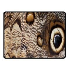 Butterfly Wing Detail Fleece Blanket (small)
