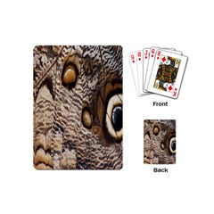 Butterfly Wing Detail Playing Cards (mini)