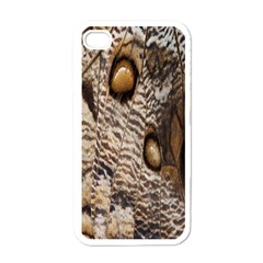 Butterfly Wing Detail Apple iPhone 4 Case (White)