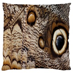 Butterfly Wing Detail Large Cushion Case (two Sides)